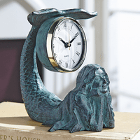 Mermaid Table Clock