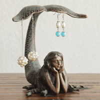 Mermaid Tail Jewelry Holder