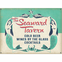 Mermaid Tavern Personalized Signs