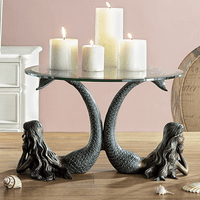Mermaid Twins Server/Candleholder