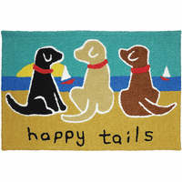Merry Pups Indoor/Outdoor Rug