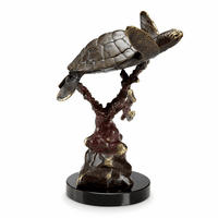 Merry Sea Turtle Sculpture