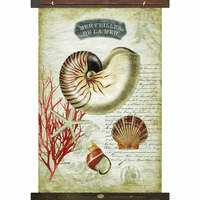 Merveilles Sea Life Wall Art