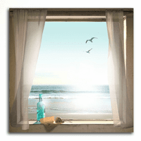 Message in a Bottle Personalized Gallery Wrapped Canvas
