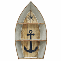 Metal Nautical Boat Shelf