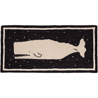 Midnight Whale Rug