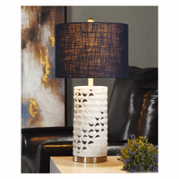Minnow Cove Ceramic Table Lamp