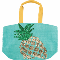 Modern Pineapple Tote Bag