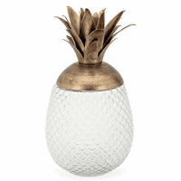 Molokai Decorative Pineapple Canister - Large