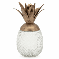 Molokai Decorative Pineapple Canister - Small