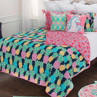 Molokai Lightweight Quilt Bed Set - King