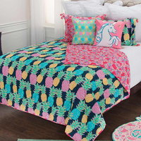 Molokai Lightweight Quilt Bed Set - Queen