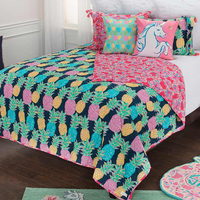Molokai Lightweight Quilt Bed Set - Twin XL