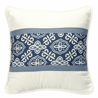 Monterrey Alhambra Banded Accent Pillow