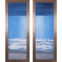 Moonlit Surf - Set of 2 Canvas Art