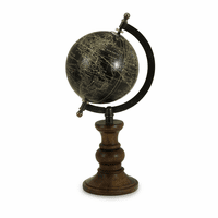 Moonray Globe on Mango Wood Stand