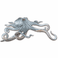 Moorean Octopus Metal Wall Art