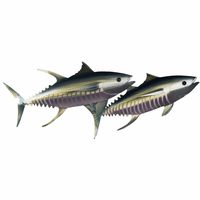 Moorean Tuna I Metal Wall Art