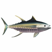 Moorean Tuna II Metal Wall Art