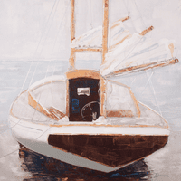 Moored I Canvas Art