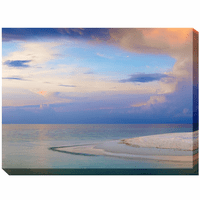 Morning Beach Canvas Art