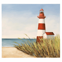 Morning Lighthouse Canvas Art