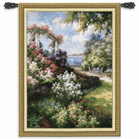 Morning Retreat Wall Tapestry