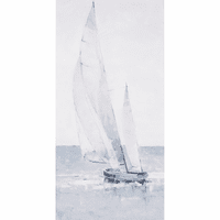 Morning Sail I Canvas Art