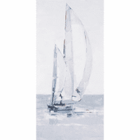 Morning Sail II Canvas Art