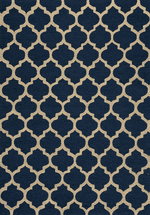 Moroccan Navy Rug Collection