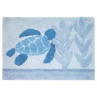 Mosaic Sea Turtle Bath Mat