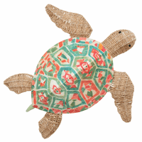Mosaic Sea Turtle Wall Art