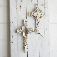 Mother of Pearl Crosses - Set of 2