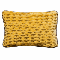 Mumbai Reversible Rectangle Pillow - 20 x 26