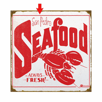 Mummert Seafood Personalized Signs