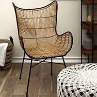 Mustique Woven Wicker Chair