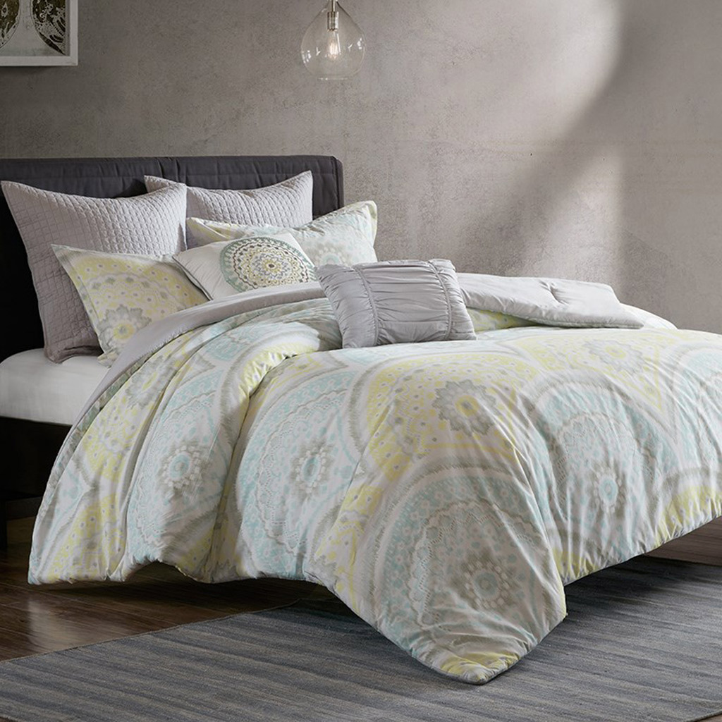 Beach Comforter Sets King California King Size Muted