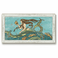 Mythical Mermaid Framed Art