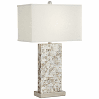 Nacre Tiled Table Lamp