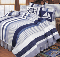 Nantucket Dream Quilt - King