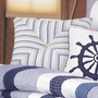 Nantucket Dream Striped Pillow