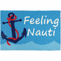 Nauti Anchor Indoor/Outdoor Rug