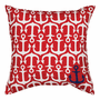Nautical All-Over Anchor Indoor/Outdoor Pillow - OVERSTOCK