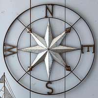 Nautical Compass Wall Art