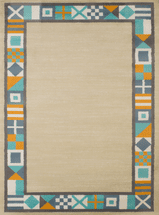 Nautical Flags Natural Rug Collection