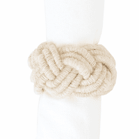 Nautical Knot Napkin Rings - Set of 6