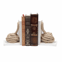 Nautical Knots Bookends - Set of 2 - CLEARANCE