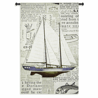Nautical Motif Wall Tapestry
