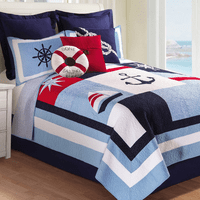 Nautical Navigator Quilt Bedding Collection
