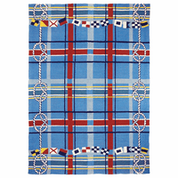 Nautical Plaid Indoor/Outdoor Rug Collection